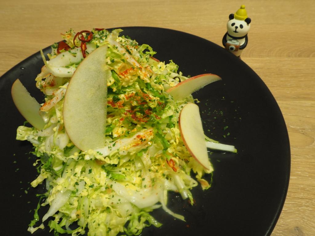白菜 生食 白菜サラダ 白菜ペペロンチーノ