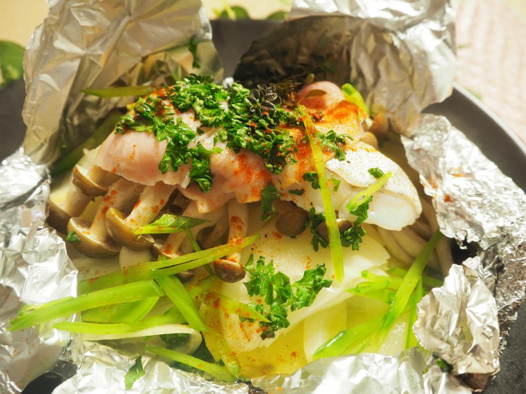 タラ 鱈 ホイル焼き 鱈のホイル焼き