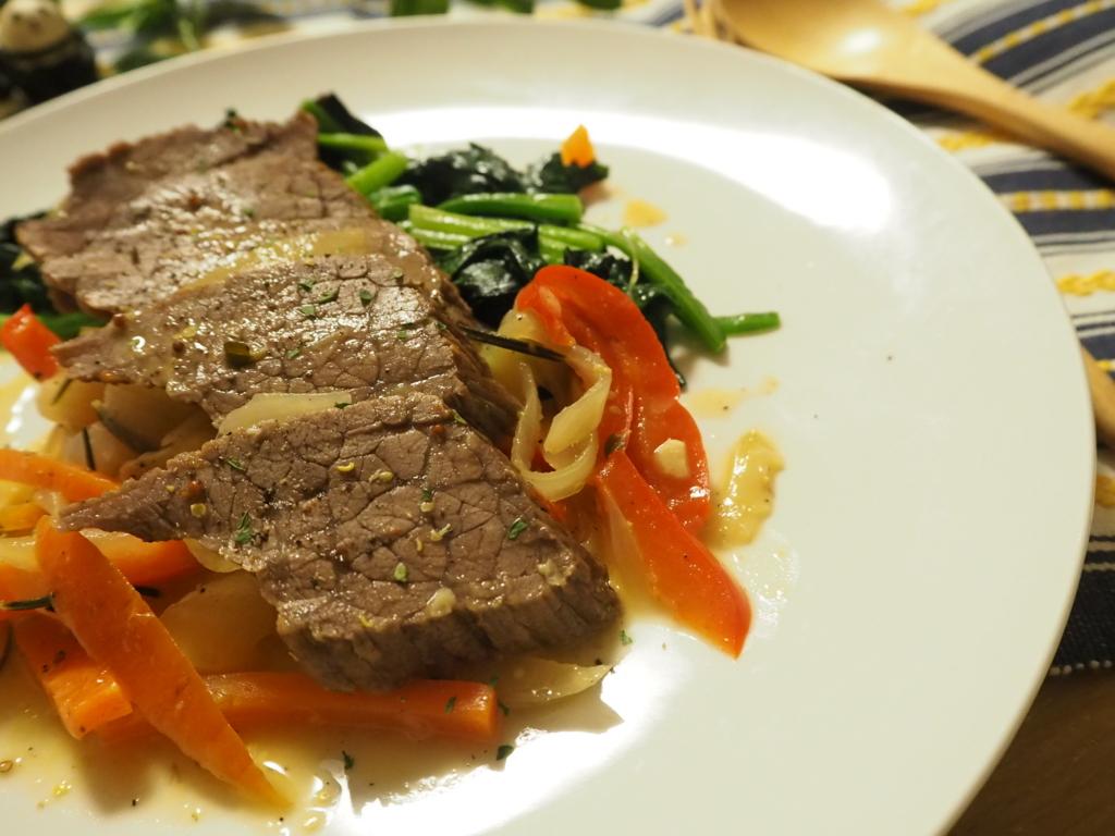 ブレゼ 牛肉のブレゼ 蒸し煮
