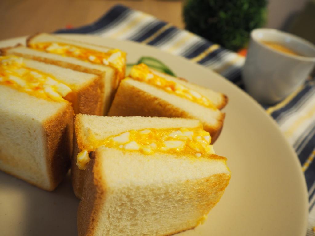 たまごサンド たまごトースト 卵サンド 卵トースト