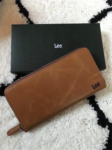 プレゼント LEE 長財布