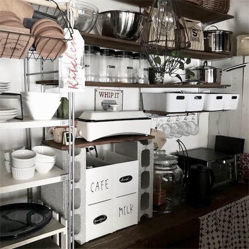 賃貸DIY キッチン タイルシール