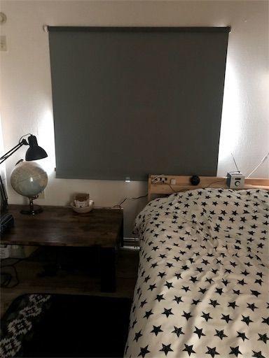 IKEA ロールスクリーン 子供部屋 賃貸