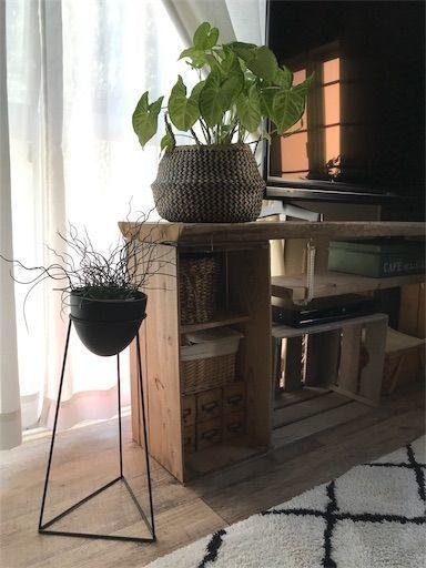 テレビ台 DIY TV りんご箱