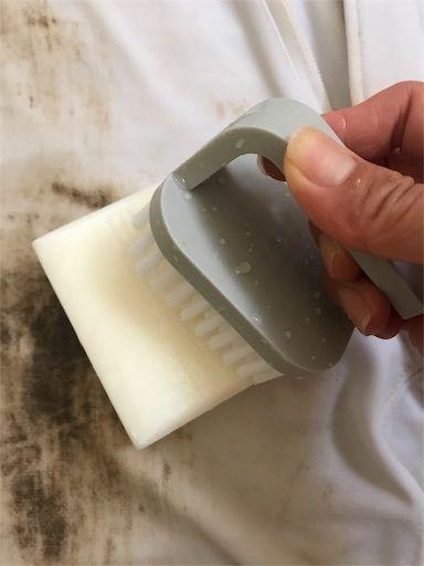 野球 ユニフォーム 泥汚れ 汚れ落とし 純石鹸