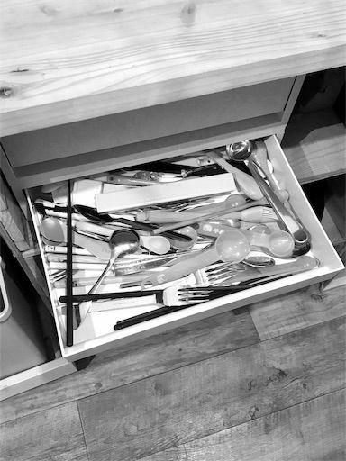 無印 引き出し カトラリー収納 キッチン