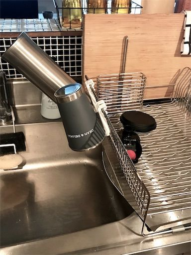 ボトル用 水切り セリア新商品 水筒水切り