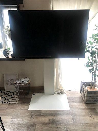 壁置きテレビ 壁寄せテレビ ウォールスタンド テレビスタンド