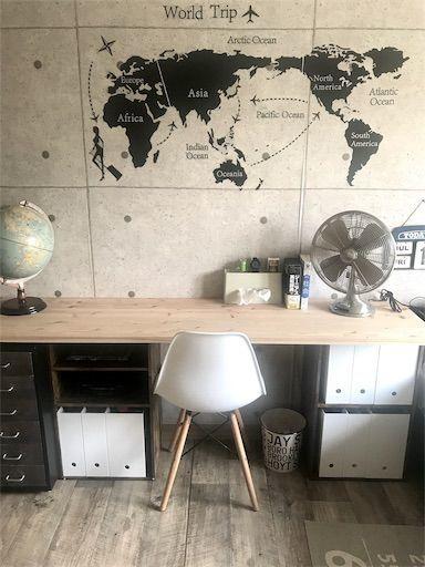 ニトリ カラーボックス カラボリメイク カラボデスク 男の子部屋