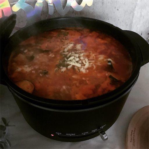 ミツカン チーズで仕上げるミネストローネ鍋スープ ミネストローネ おいしいスープ