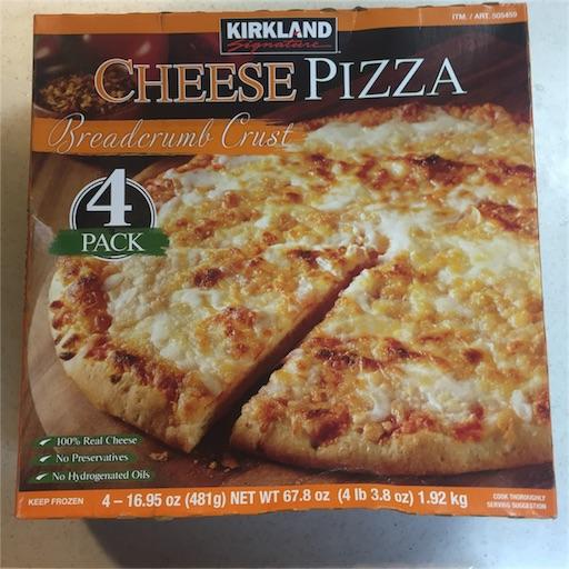 カークランド 冷凍ピザ