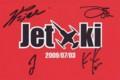 ジェット機解散ライブサイン入りポストカード