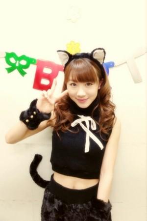 石田亜佑美バースデーイベント2014での石田亜佑美の衣装の画像