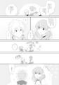 イベントで作った無配漫画 2/3