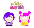 m作のHi Hi Puffy AmiYumiサウスパーク風