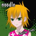 m作のNoodle Gorillaz Tranz