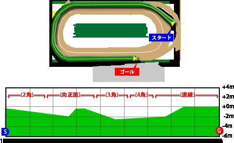 東京競馬場・芝1800m
