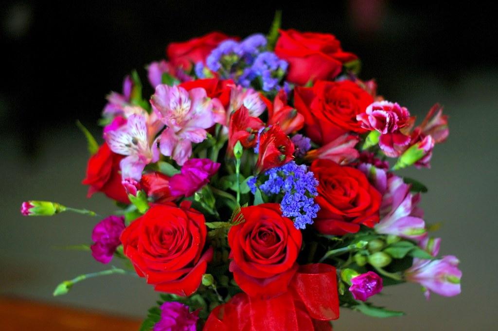 花束 バラ 祝
