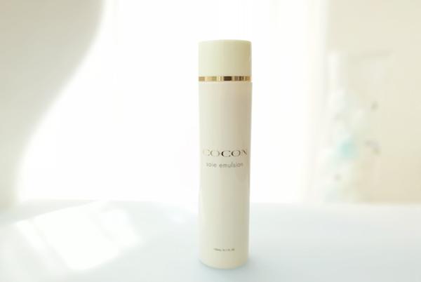 シルク化粧品 乳液 ココン 合成界面活性剤不使用 ココンソワエマルジョン 基礎化粧品