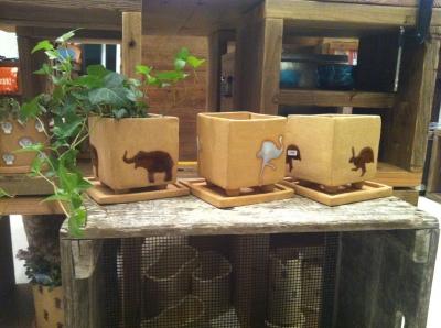 角植木鉢小