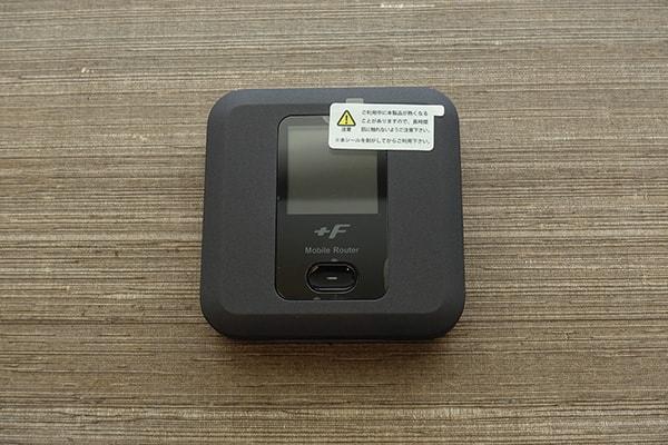 ネクストモバイルのルーター「FS030W」前面