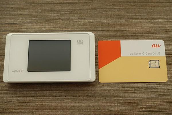 WX05とSIMカード