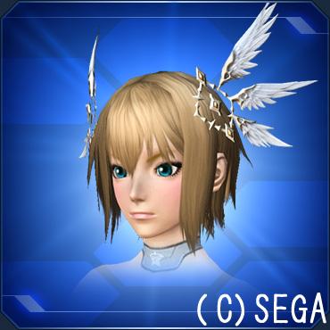 翼の髪飾りB