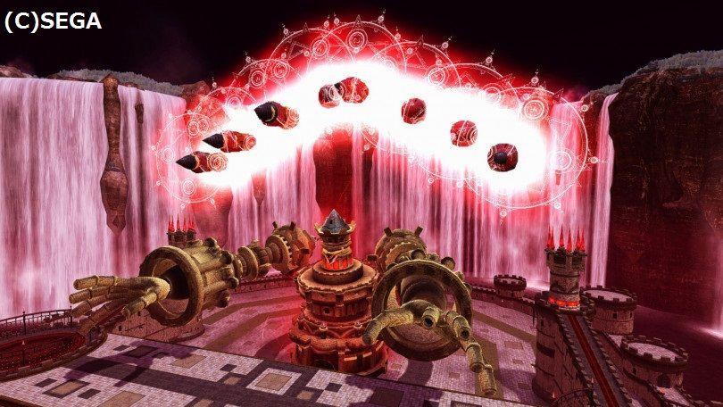背中のミサイル。バスターバレスが選出された時は他の魔神城に比べて高難易度。