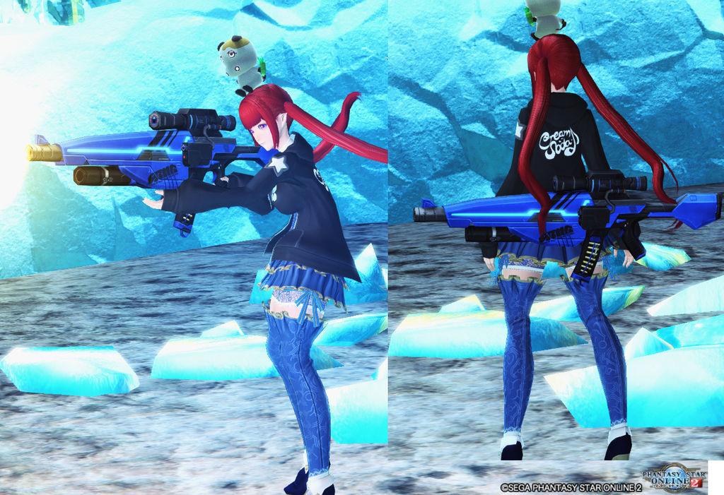 青のライフル