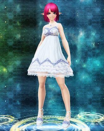 エアリーサマードレス