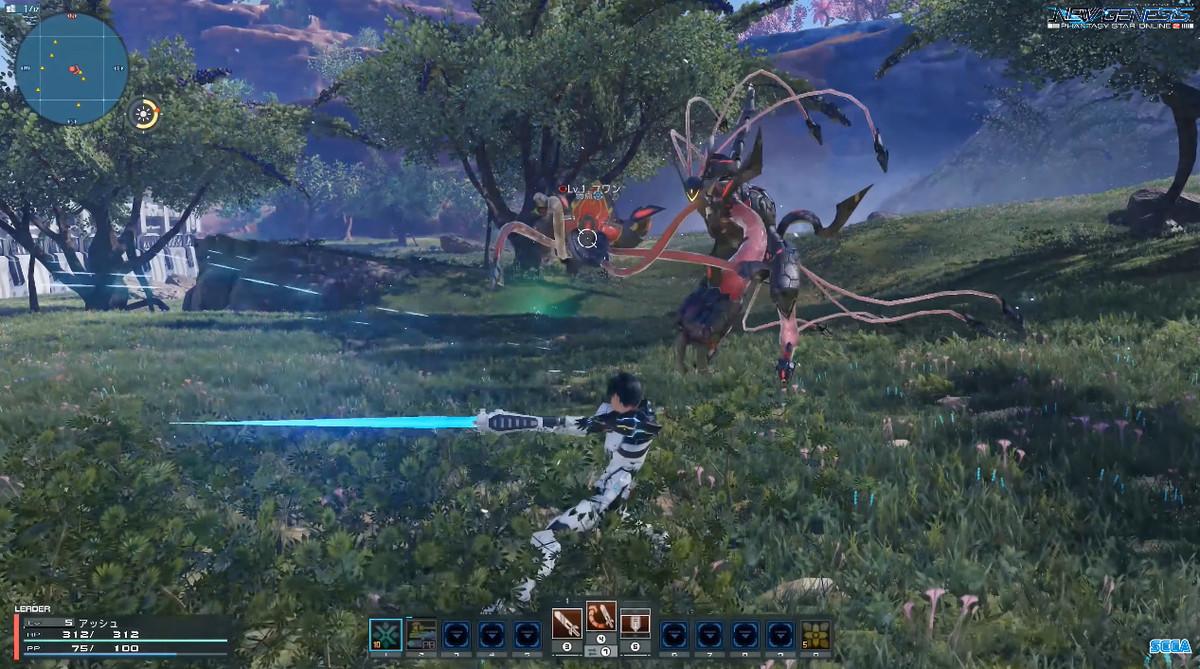 ソードは、雑魚エネミーとの集団戦、ボスとの戦闘のどちらも対応できる万能な武器です。