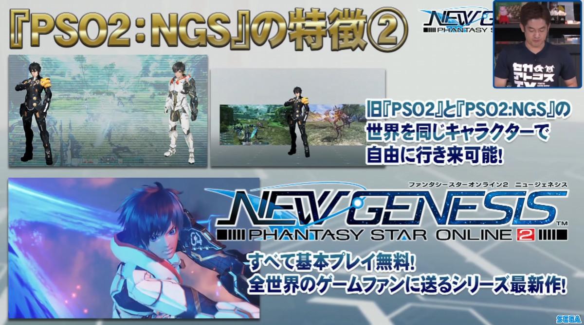 『PSO2:NGS』の特徴