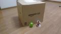 [twitter] Amazonから大きな箱が届いた!!