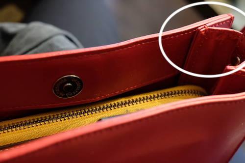 YAHKIのバッグの皮剥げを自分で修理した