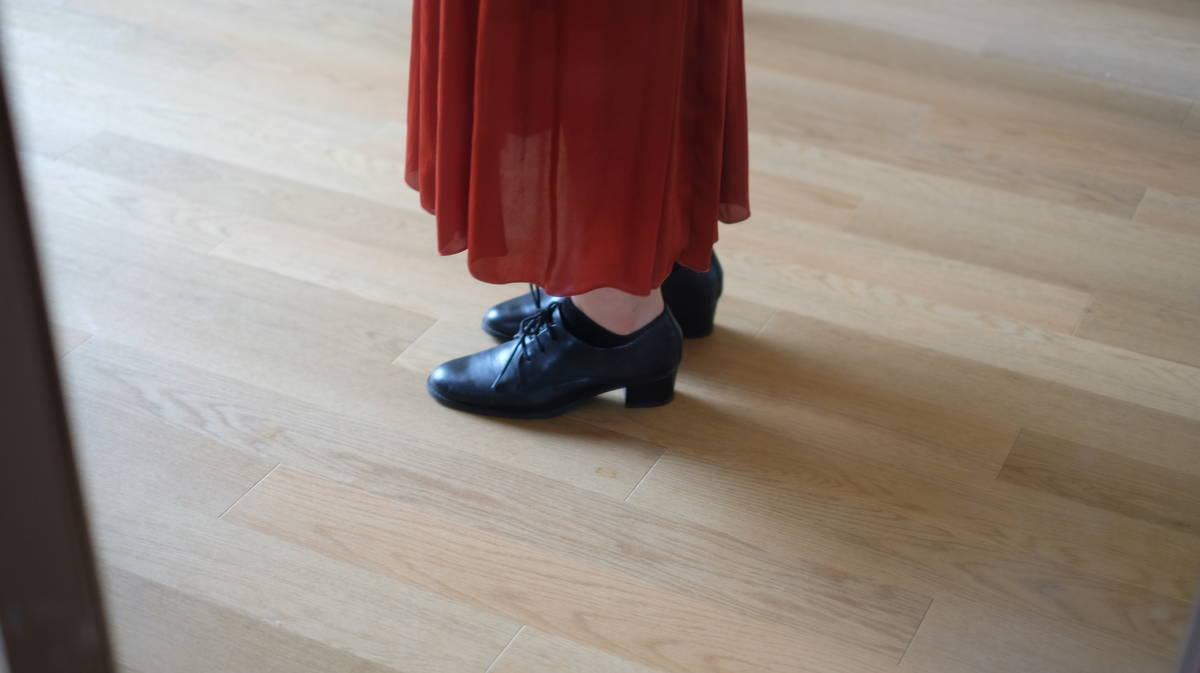 【幅狭足でもいけた】enchantedのおじ靴がとっても良かった♡