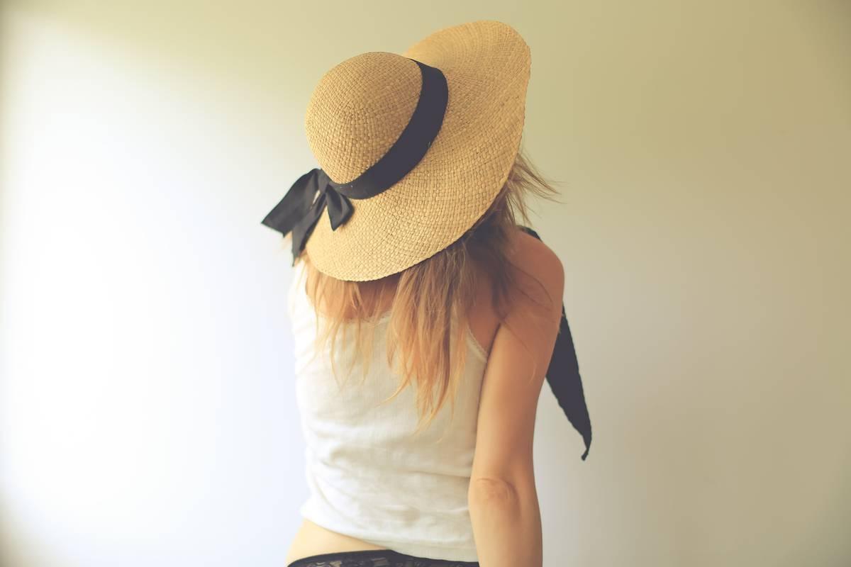 頭が大きい人対応サイズがある、可愛いレディース帽子