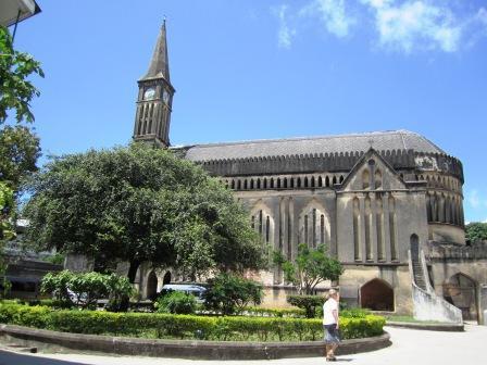 ザンジバル 教会