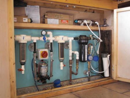 雨水が飲み水になる、家庭用浄水システム
