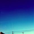 今日は空が蒼い