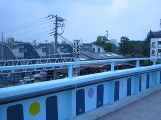 [Berryz工房[ロケ地探訪]囲桃園跨線橋6