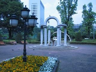 若葉東公園噴水2