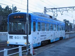 阪堺電車(浜寺駅前)