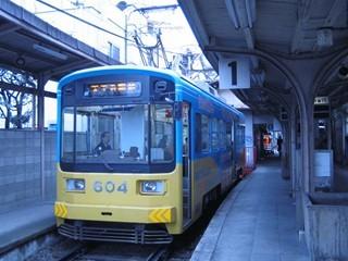 阪堺電車(住吉公園)