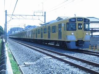 西武2000N(快速急行)小平~久米川