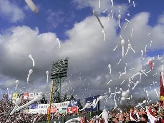 勝利のジェット風船