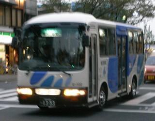 銀河鉄道バス@東村山駅前1