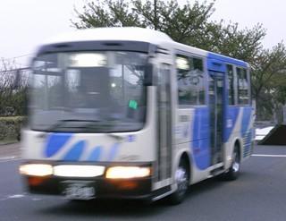銀河鉄道バス@東村山駅前2