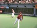 岩隈久志投手@ベンチ前