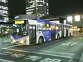富士+VOLVO連接バス