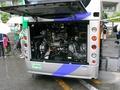 ムーバス用ポンチョ エンジン部分